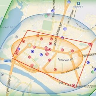 Аналитика стоимости коммерческой недвижимости по районам Калуги (апрель 2016)