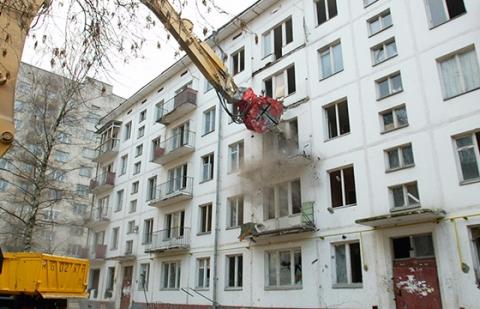 Взносы на капремонт пятиэтажных домов могут вложить в строительство нового жилья