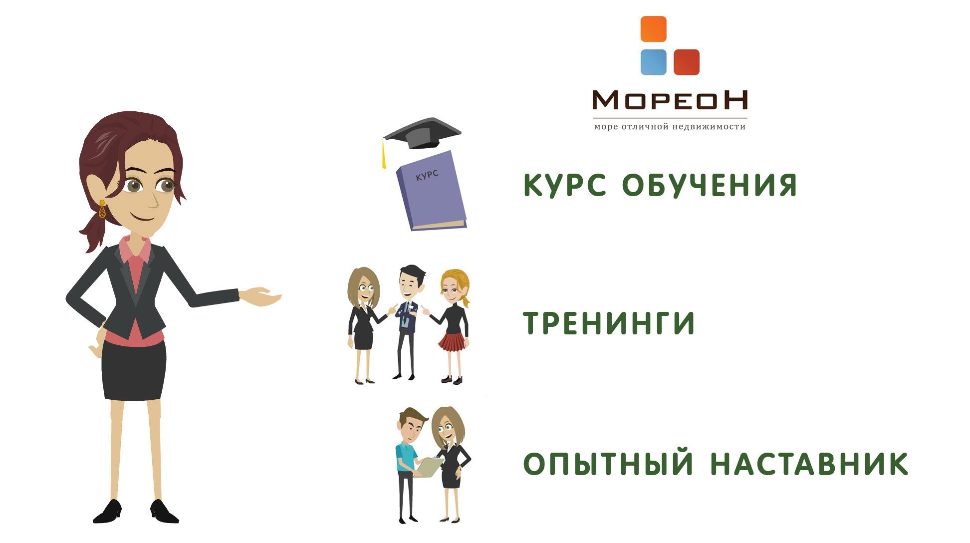 Курсы обучения риэлторов Краснодар Мореон Инвест