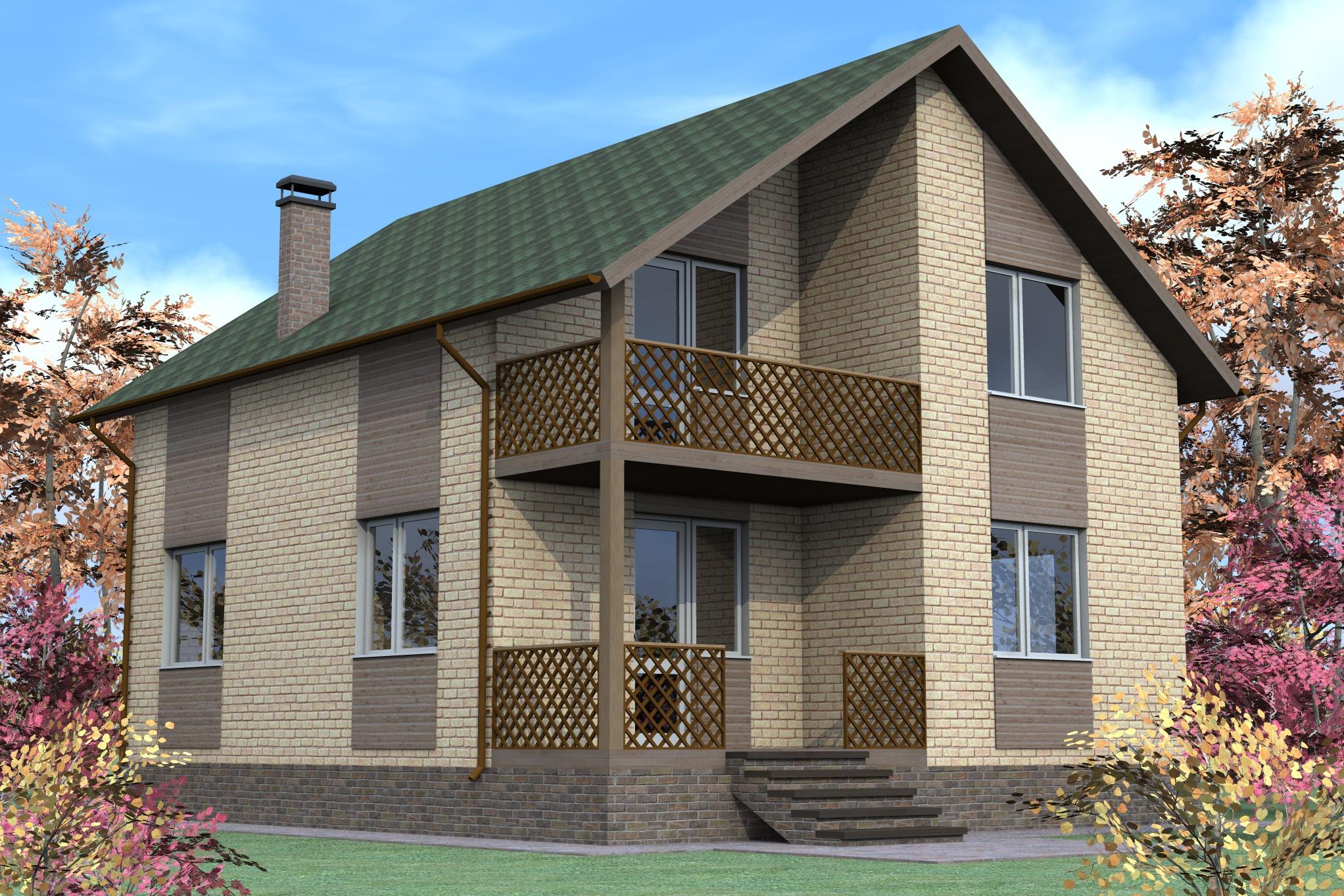 Дом бетон кирпич фиброволокно в бетон