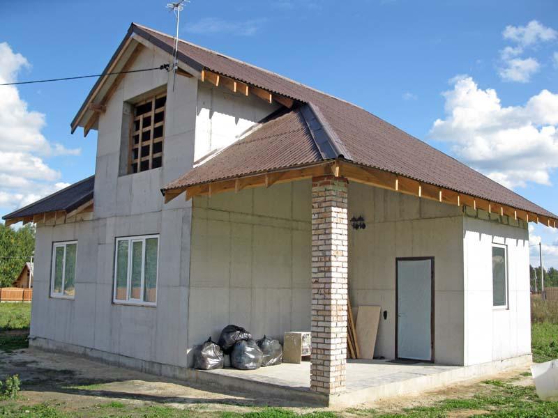 Дом бетон кирпич завод ячеистого бетона сайт