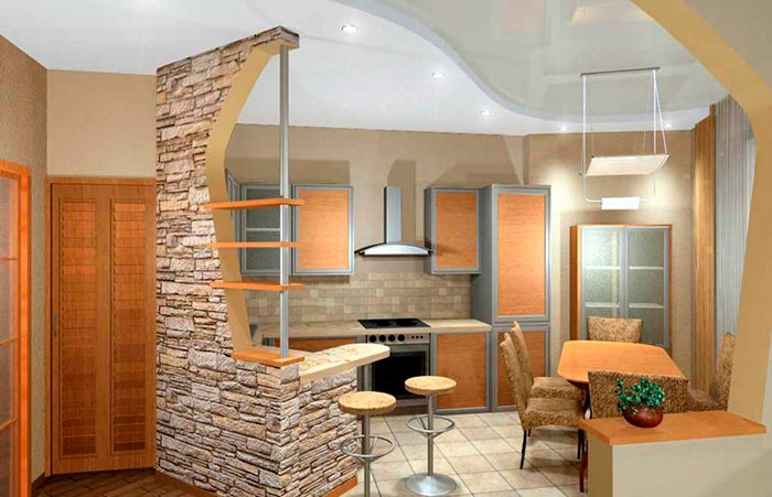 Декоративный камень скорее похож на отделку фасада дома