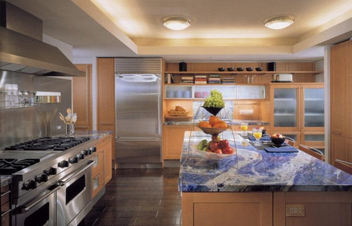 Кухонная столешница из гранита Australia blue