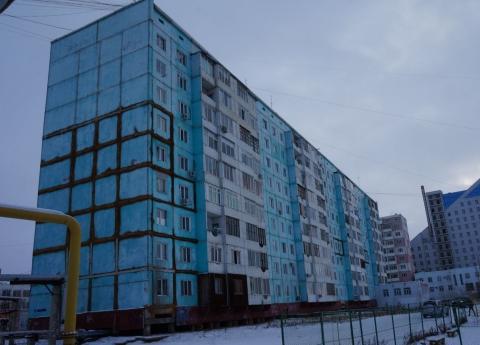 «Пизанская башня» в Якутске