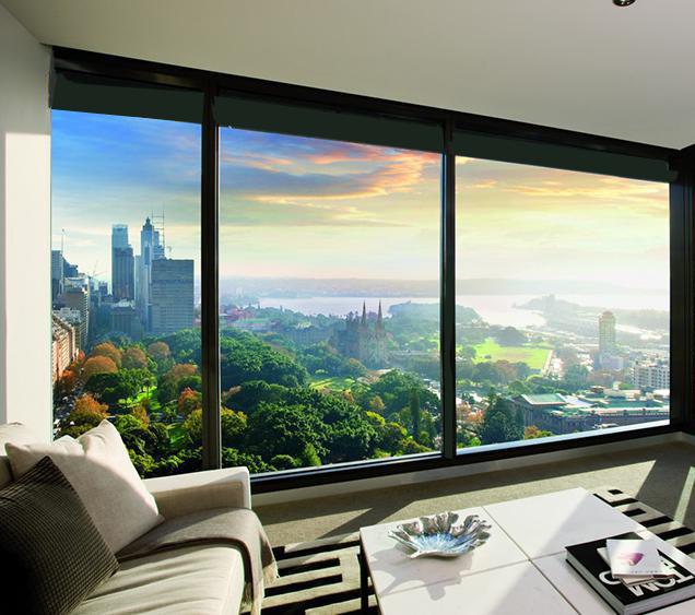 Панорамное остекление на верхних этажах позволяет созерцать потрясающие рассветы и закаты над городом